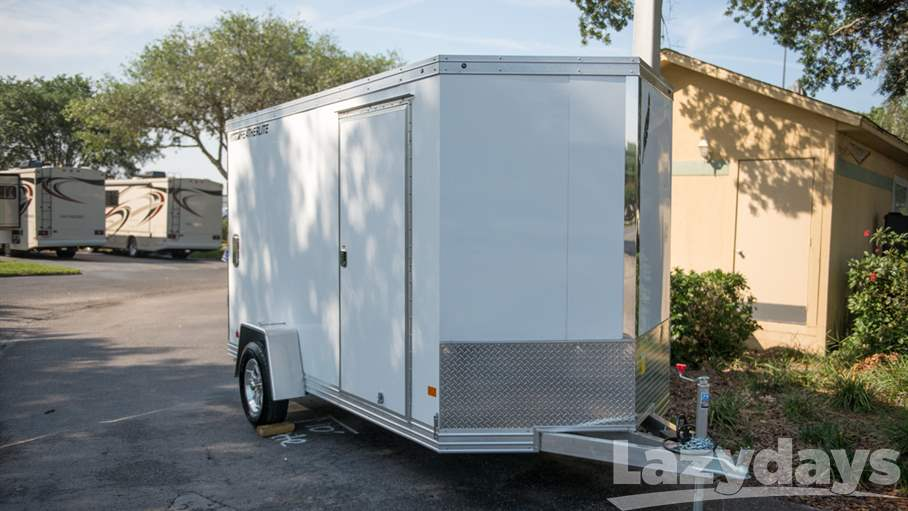 2017 Featherlite Enclosed Utility Trailer