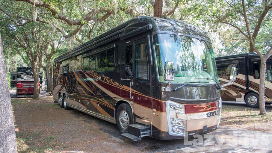 2019 Entegra Coach Cornerstone RV for sale in Tampa.