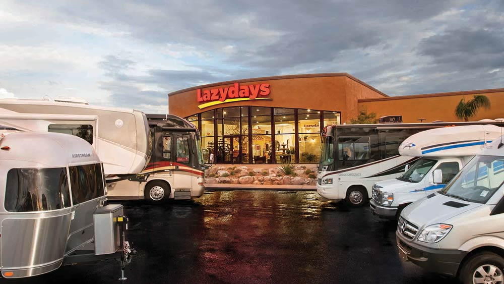Gene Taylor joins the Lazydays RV sales team to help the world's largest RV dealership become stronger.