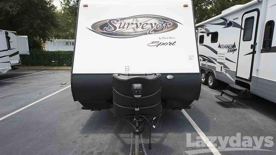 Creative 2014 Forest River Surveyor Sport SP220 For Sale In Tampa