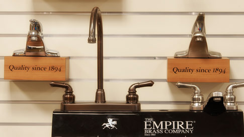 Empire Brass Faucets