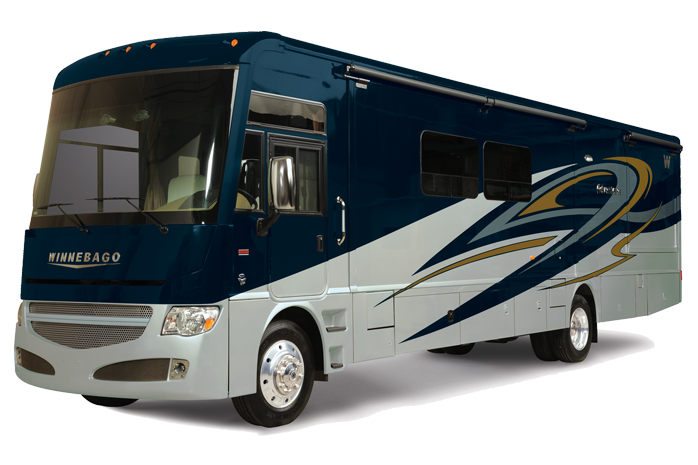 Experience the epitome of the RV lifestyle in a Winnebago motorhome.