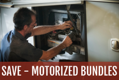 Save more on your annual motorhome service with motorized RV maintenance bundles at Lazydays.