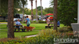 Enjoy the beautifully landscaped Lazydays RV Resort along your RV travels.