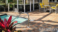 The Lazydays RV Resort campers can enjoy the screened and heated pool with hot tub.