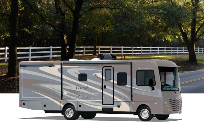Discover the 2015 Fleetwood RV Storm at Lazydays!