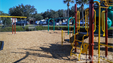 Kids can enjoy the playground at the Lazydays RV Resort.