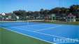 Bring along your tennis racket for a game on the tennis courts at the Lazydays RV Resort.