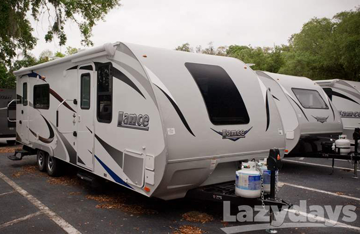Take your party on the road in the 2016 Lance 2285!