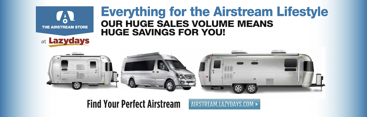 The Airstream Store at Lazydays Tucson has everything for the Airstream lifestyle.