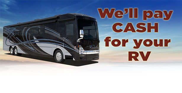 Find out how you can sell your RV to Lazydays, The RV Authority.