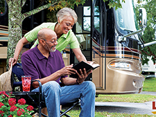 Traveling in a motorhome or towable RV means traveling to scenic places, resorts, campgrounds and various recreational spaces.