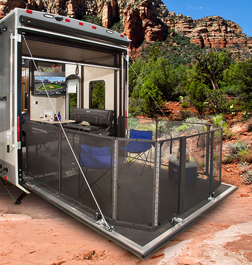 Toy Hauler Floor Plans: The 2016 Highlander Toy Hauler Travel Trailers Are Here