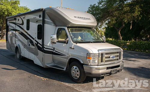 This is a photo of the 2015 Winnebago Aspect exterior.