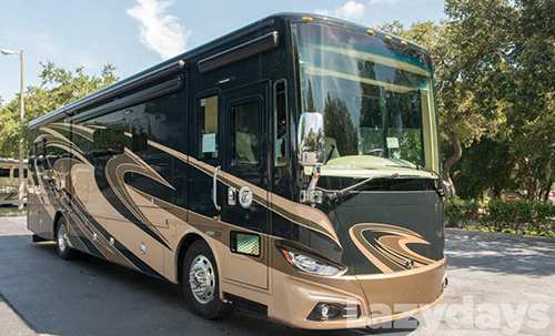 Thie 2016 Tiffin Motorhomes Phaeton is a great option if you are searching for a high-end diesel uxury motorhome.