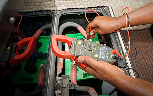 Using a voltage meter to test your RV's battery levels can help you monitor the performance and aid in preventative maintenance on your motor home.