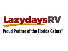 Lazydays and University of Florida Gators will host RV tailgating at football games.