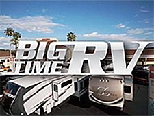 The Travel Channel has started showing the second season of Big Time RV, which was shot on Lazydays properties in Tampa and Tucson.
