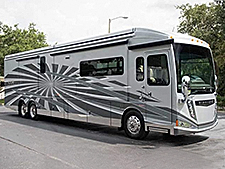 The 2015 Winnebago Grand Tour is prepared to meet the demands of RVers who expect many luxuries in a Class A Diesel motorhome.