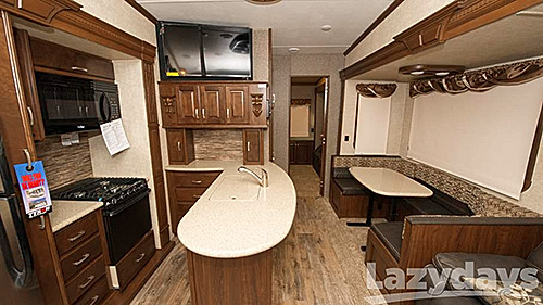 "The 3650BH floorplan of the 2016 Heartland Gateway Fifth Wheel offers lots of luxury at t convenient price."" width="