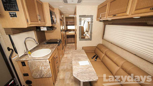 The Thor Axis and Vegas Class A Motorhomes has substantial upgrades.