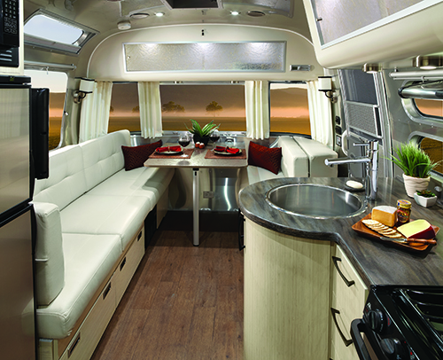 2016 Travel Trailer Serenity is one of several models that will be on display at the Airstream New Model Show.