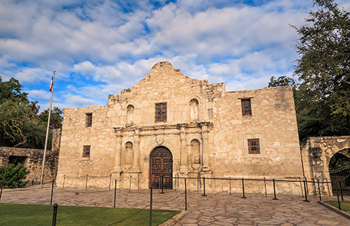 The Alamo is a pivotal place in Texas' history.