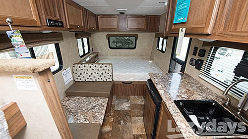 Mandatory standard features make the 2016 Coachmen Clipper travel trailer an attractive buy for owners of smaller towing vehicles.