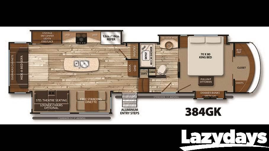 2016 Grand Design Solitude 384gk For Sale In Tampa Fl Lazydays