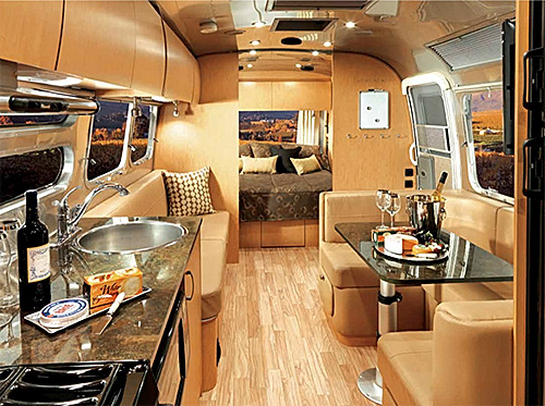 The 2016 Airstream has style and flair and provides a level of convenience to float away on your adventure.