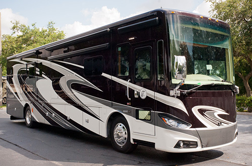 Tiffin is among the manufacturers who received awards from the RVDA for luxury motorhomes like this Tiffin Phaeton.