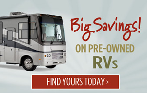 Get into a Pre-Owned Rv. Click here to see our inventory.