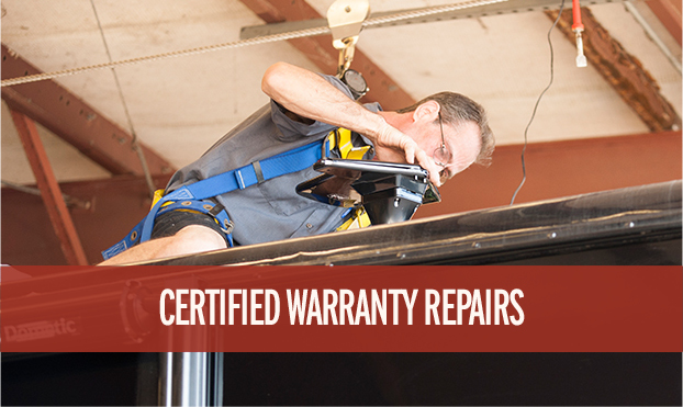 Lazydays offers certified warranty repairs performed by our expert RV service technicians.