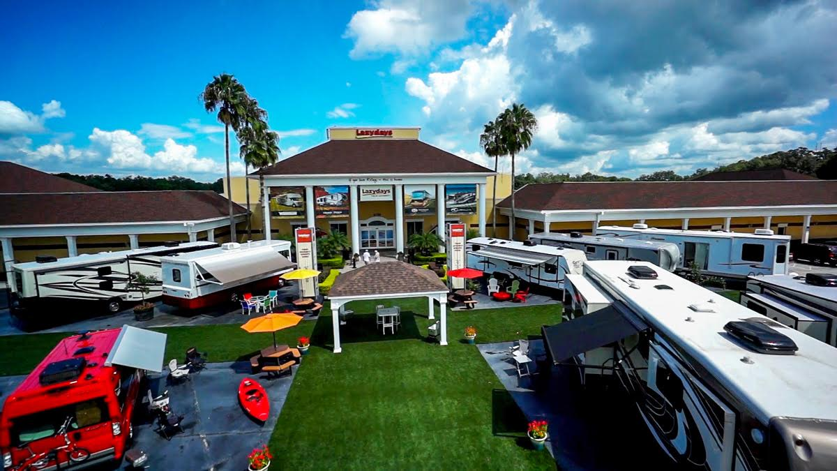 Lazydays Named the  #1 RV Dealer in Florida