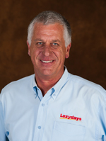 Begin your RV journey with Kevin Dailey, an expert Lazydays Sales Consultant.