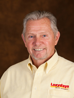 Begin your RV journey with Bob Wilson, an expert Lazydays Sales Consultant.
