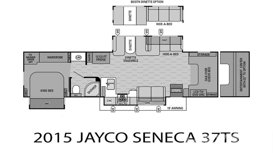Jayco Seneca 37ts >> 2015 Jayco Seneca 37TS for sale in Tampa, FL | Lazydays