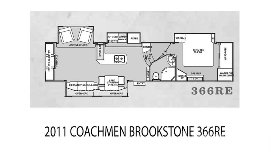 2011 Coachmen Brookstone 366re For Sale In Tampa Fl