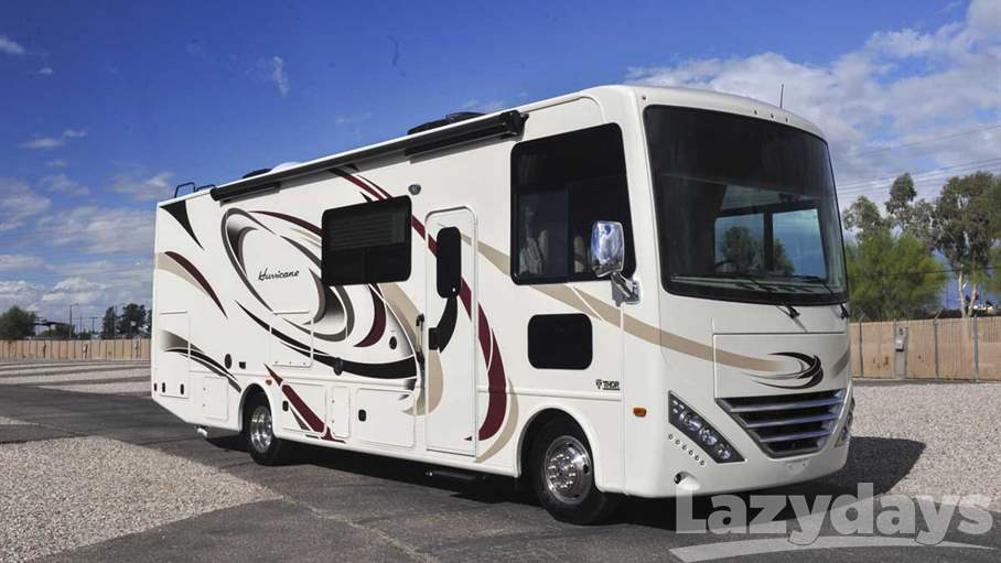 Search rvs motorhomes travel trailers for sale lazydays for Thor motor coach hurricane