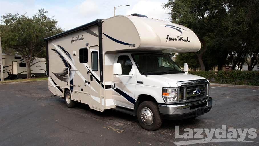 2017 thor motor coach four winds 24f for sale in tampa fl for Thor motor coach four winds
