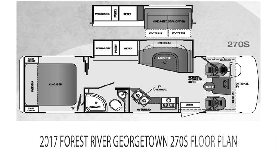 2017 Forest River Georgetown 270S For Sale In Tampa, FL
