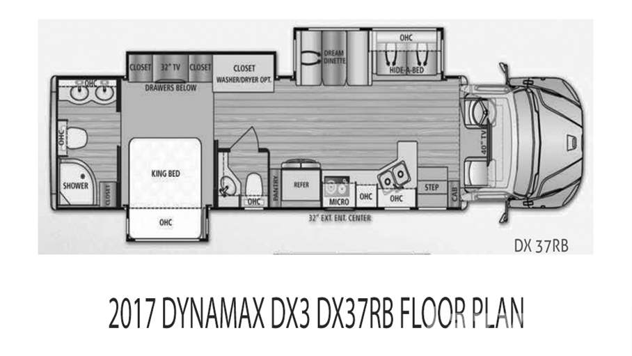 2017 Dynamax DX3 37RB For Sale In Tampa, FL