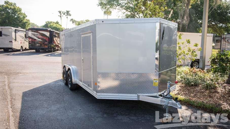 2017 Featherlite Enclosed Motorcycle Trailer