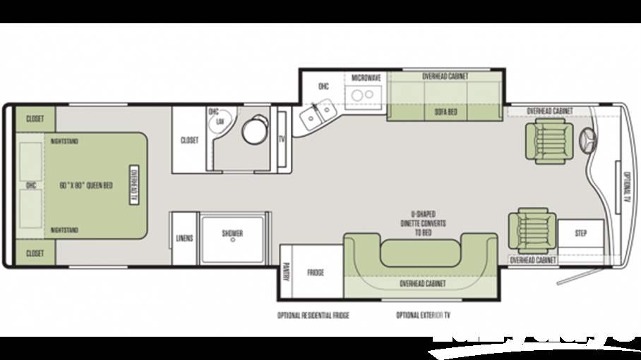 Open Road Fifth Wheel Floor Plans: Class A RVs & Coaches