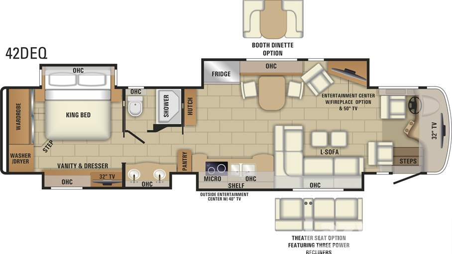 Search RVs Motorhomes Travel Trailers For Sale – King Of Queens House Floor Plan