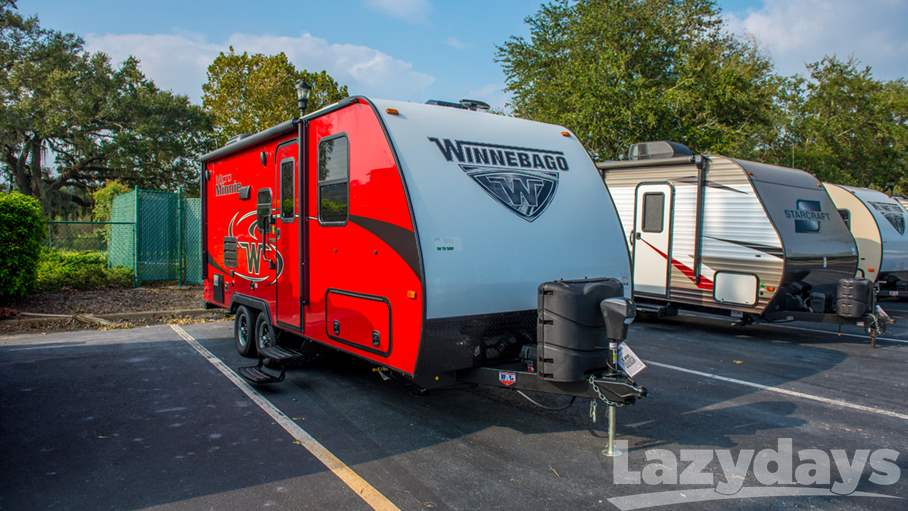2018 winnebago micro minnie 2108ds for sale in tampa fl lazydays. Black Bedroom Furniture Sets. Home Design Ideas