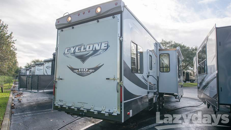 2012 Heartland Cyclone 3800 Toy Hauler