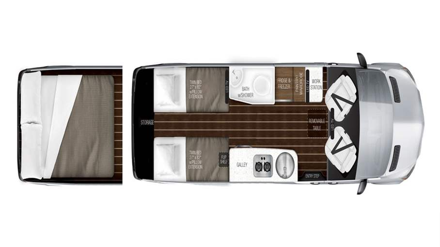 2018 Airstream Interstate Grand Tour Twin For Sale In