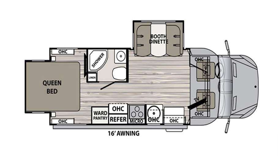 Dynamax Rv Floor Plans: 2018 Dynamax Isata 3 24RWM For Sale In Tampa, FL