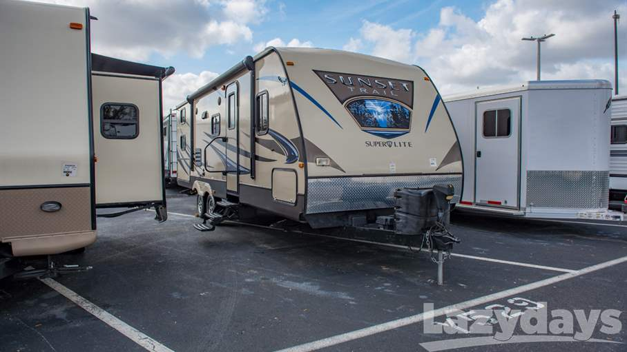 2015 Crossroads RV Sunset Trail TT 270BH